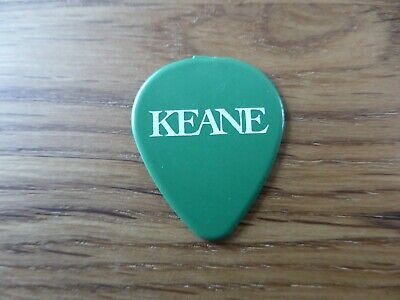 KEANE - Official Promotional Guitar Pick / Plectrum - Hopes & Fears - 2004 - NEW • 3.99£