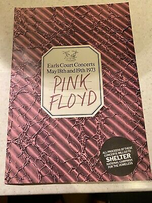 Pink Floyd Programme Earls Court May 1973. Dark Side Of The Moon . • 20£