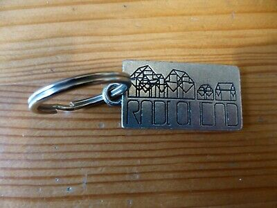 RADIOHEAD - Official Metal Keyring  Hail To The Thief  World Tour 2003/4 - NEW • 9.99£