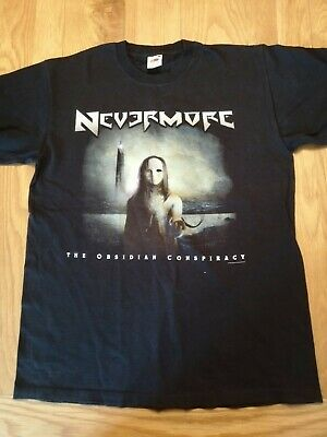 Nevermore - The Obsidian Conspiracy Shirt • 10£