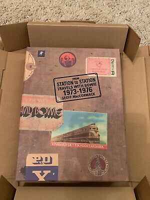 David Bowie From Station To Station Signed Rare Collectors Book • 850£
