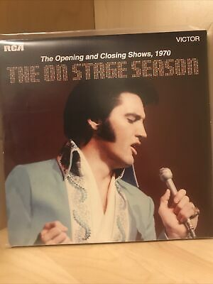 Elvis Ftd Opening/closing 1970 On Stage • 5.50£