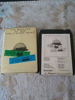 8 Track Cartridge Tapes - The Beatles At The Hollywood Bowl • 9£