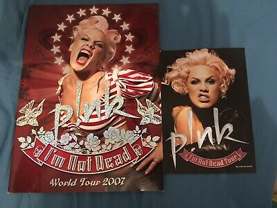 PINK (P!NK) * I'M NOT DEAD REVISED TOUR PROGRAMME * 2007 * And Flyer • 30£