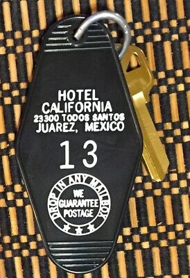 SALE LIMITED TIME! Eagles Hotel California Room Keychain/Keyring CORONA SAFE!   • 7.08£
