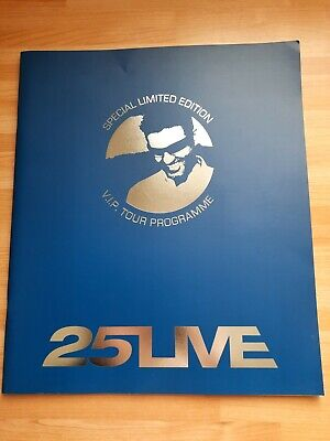 George Michael 25 LIVE TOUR VIP PROGRAMME UK 2006 - RARE  • 35£