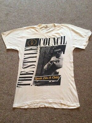 Rare Original 1984 The Style Council T-shirt Mod/vespa/lambretta • 49.99£
