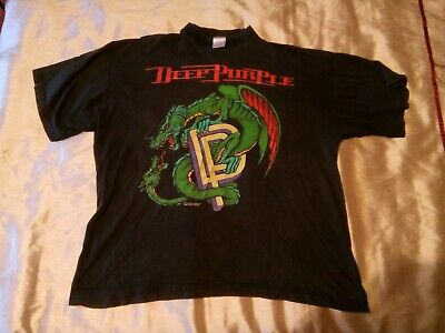 Deep Purple T Shirt The Battle Rages On World Tour 1993-1994 • 3.20£