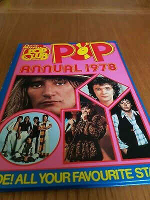 Daily Mirror Pop Club Annual 1978 • 0.99£