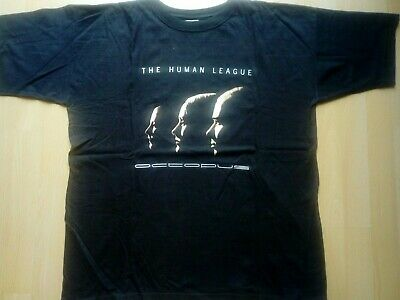 The Human League T Shirt Size XL 1995 • 24.99£
