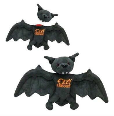 Ozzy Osbourne Plush Bat Toy Removable Head Official • 90£