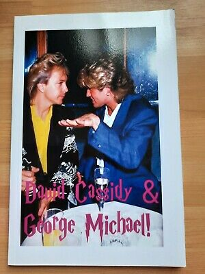 Book -  David Cassidy & George Michael   With Info On Both Artists  • 5.99£