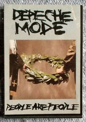 Depeche Mode Rare Vintage Sticker - People Are People - 1980s - Unused • 9.95£