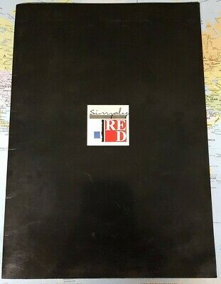 Rare SIMPLY RED - END OF THE WORLD TOUR PROGRAMME 1987 • 1.99£