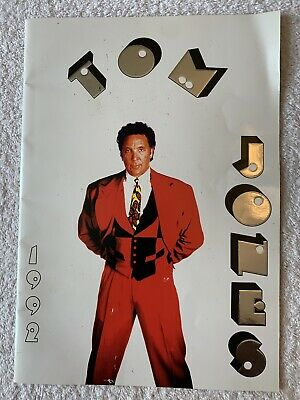 Tom Jones - Concert Tour Programme - 1992 • 4.99£