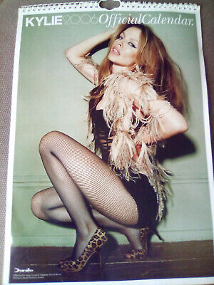 Kylie Minogue Official Wall Calendar 2006 • 9.99£