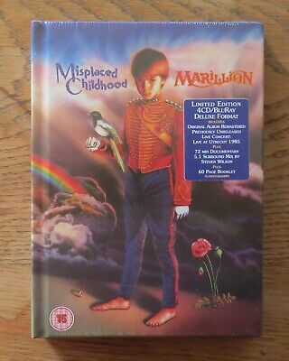 Marillion  Misplaced Childhood  Deluxe  4 Cd & Blu Ray  Brand New & Sealed • 35£