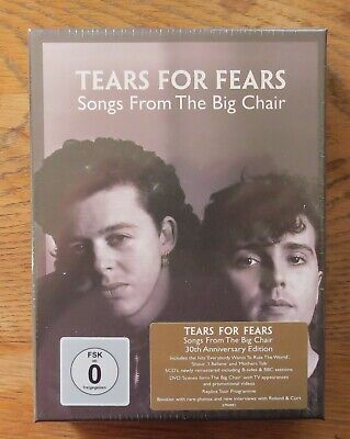 TEARS FOR FEARS Songs From The Big Chair - Super Deluxe 4xCD+2xDVD NEW & SEALED • 50£