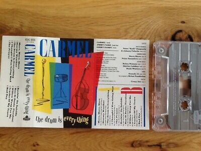 Carmel Cassette The Drum Is Everything • 1.99£