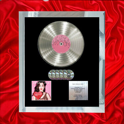 Charlie Xcx Sucker Cd Multi Platinum Disc Vinyl Lp Record  • 297.97£