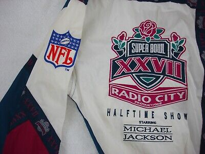 Michael Jackson Super Bowl XXVII Official Stuff Promo 1993 Jacket Mega Rare • 299.99£