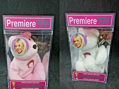 Factory Sealed Christina Aguilera 2000 Premiere Limited Edition Rare Bear • 17.85£