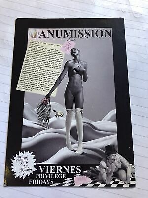 Manumission 18.08.98 Postcard Rave Flyer Ibiza • 4.99£
