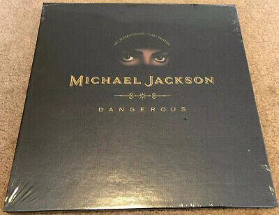 Michael Jackson Dangerous Box Set First Pressing Extremely Rare!!!!! SEALED • 175£