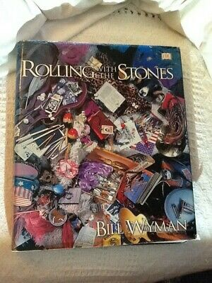 Rolling With The Stones By Bill Wyman Big Fat Book 512 Pages Of Colour And Info • 15£