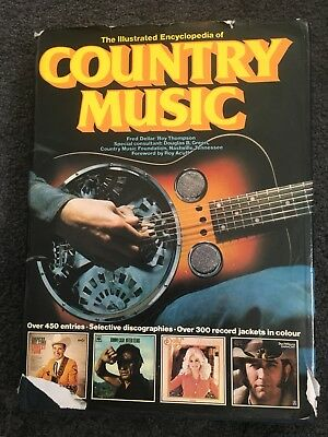 The Illustrated Encyclopedia Of Country Music Hardbacked Book • 5£