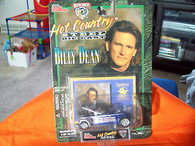 Billy Dean Issue #16 Hot Country Limited Edition Die Cast Car Hood Open  • 2.12£