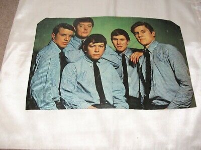 Eric Burdon The Animals Signed By 5 1964 Magazine Picture Vg Pop Autograph Book • 84.99£