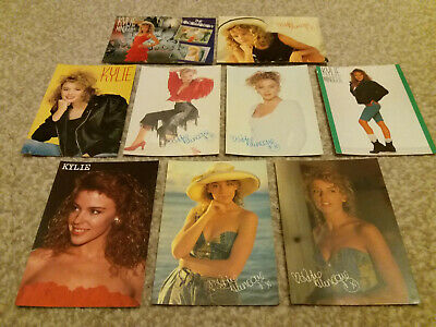 9 X Retro Vintage 1980's Kylie Minogue Postcards  • 16.99£