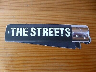 THE STREETS - Official Lighter Logo Sticker - NEW • 1.99£