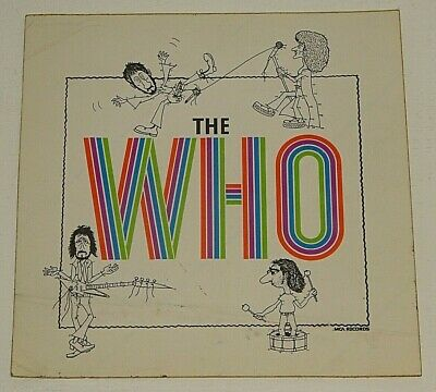 THE WHO BY NUMBERS 1975 MCA US Album Promotional STICKER • 2.49£