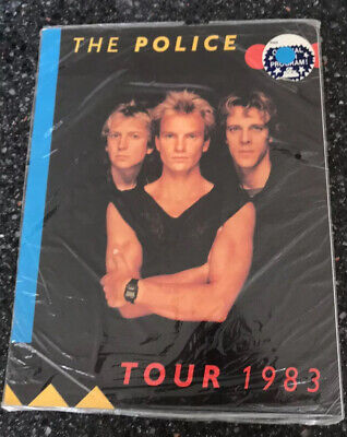 The Police- Synchronicity Sealed Tour Programme 1983 • 5£