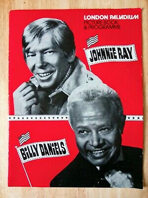 Johnnie Ray At The London Palladium 1977. Picture Book + Programme+ Flyer. • 3.75£