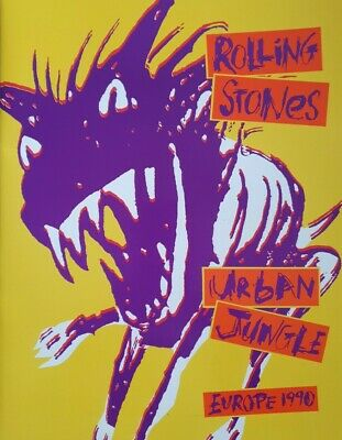 THE ROLLING STONES Urban Jungle Europe 1990 Tour • 8.99£