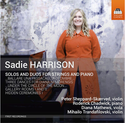 Sadie Harrison : Sadie Harrison: Solos And Duos For Strings And Piano CD (2015) • 14.15£