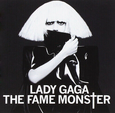 Lady Gaga : The Fame Monster CD Deluxe  Album 2 Discs (2009) Fast And FREE P & P • 1.99£