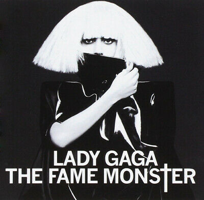 Lady Gaga : The Fame Monster CD Deluxe  Album 2 Discs (2009) Fast And FREE P & P • 1.94£