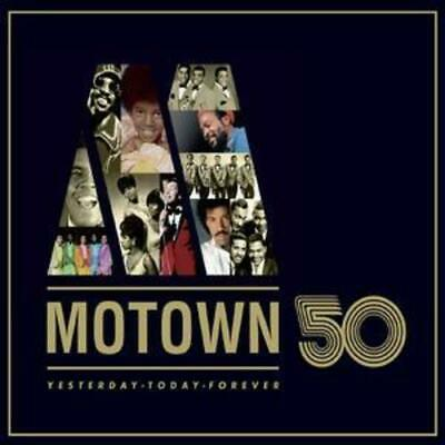Various Artists : Motown 50 CD 3 Discs (2008) Expertly Refurbished Product • 3.56£
