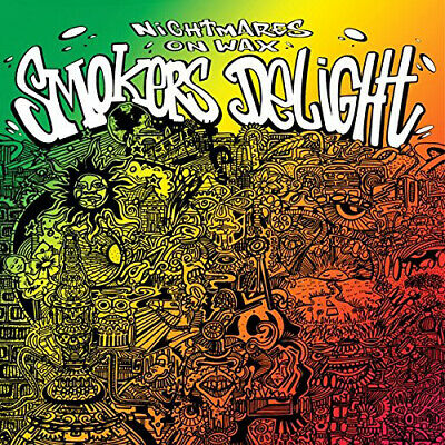 Nightmares On Wax : Smokers Delight VINYL 12  Album 2 Discs (2014) ***NEW*** • 21.26£