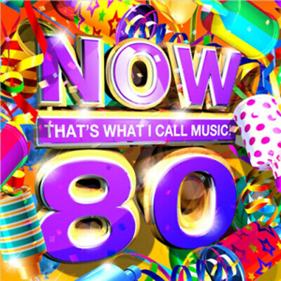 Various Artists : Now That's What I Call Music! 80 CD 2 Discs (2011) Great Value • 1.97£