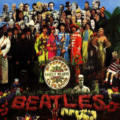 The Beatles : Sgt. Pepper's Lonely Hearts Club Band CD (1967) Quality Guaranteed • 2.73£