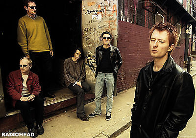 Radiohead Poster A1 Size 84.1cm X 59.4cm - Approx 33 Inches X 24 Inches • 6.99£