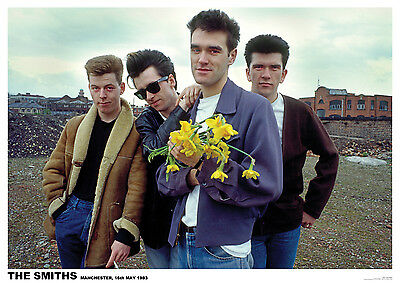 The Smiths Colour  Poster A1 Size 84.1cm X 59.4cm -  33 Inches X 24 Inches • 6.99£