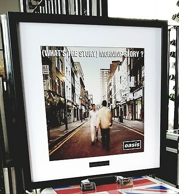 Oasis What's The Story Morning Glory-Framed Original Album Cover-Ltd Edition  • 64.99£