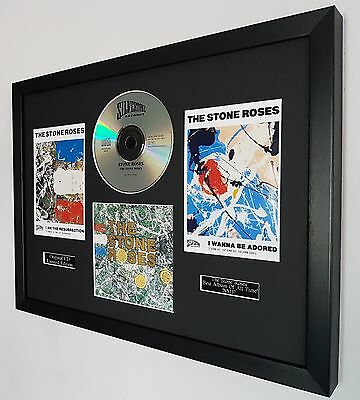 The Stone Roses Framed Original CD-Limited Edition-Certificate-Adored-Ian Brown • 44.99£