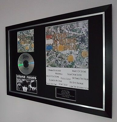 The Stone Roses Framed-Ltd Edition-Certificate Ian Brown-Oasis-liam Gallagher  • 64.99£